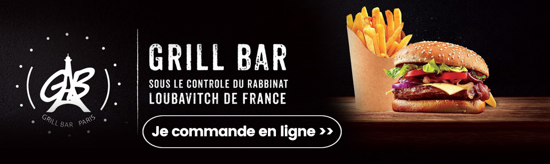Commander chez Grill bar