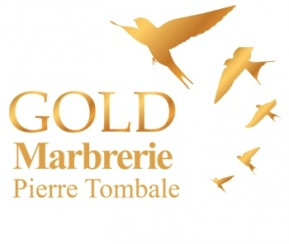 Gold Marbrerie Pierre Tombale - 1