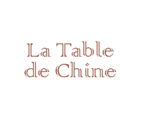 La table de Chine - 1