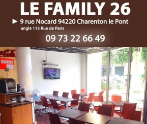 Restaurant Cacher Le Family 26 - 1