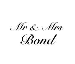 Mr & Mrs Bond - 1
