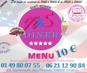 Restaurant Cacher N&S Diner - 1