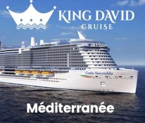 Croisière Méditerranée Août 2021 David Cruise 02/08/2021 au 09/08/2021 - 1