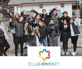 Club kineret - Stage Animateurs + de 16 ans - 2
