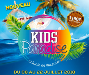 Voyages Cacher Colonie Kids Paradise Thones- 6-12 ans - Du 8 au 2 - 1
