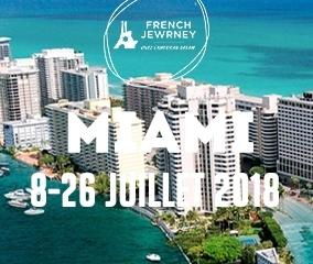 French Jewrney Miami - 14-17 ans et 18-20 ans - Du 8 au 26 Juillet 2018 - 1