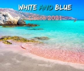 White & Blue Crète - 1