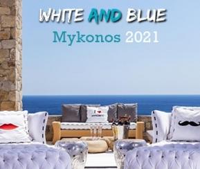 White & Blue Mykonos - 1