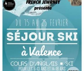 French Jewrney - Valence - 6-13 ans -  Du 15 au 25 Février - 2