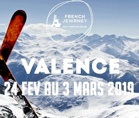 French Jewrney - Valence - 14-18 ans -  Du 24 Fev au 3 Mars 2019 - 1