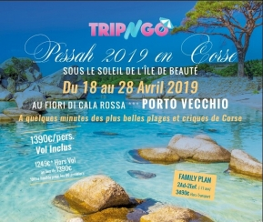 Pessah 2019 en Corse-Porto Vecchio - 1