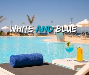 White and Blue Chypre - 1