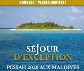 Pessah d'Exception aux MALDIVES - 1