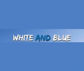 White and Blue - 1