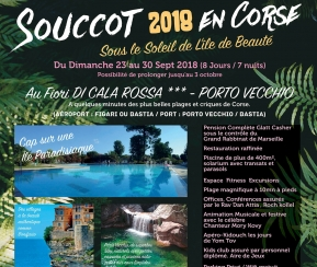 Souccot 2018  en Corse - 9