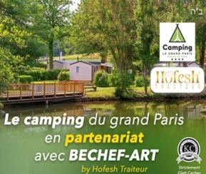 Beshef-art au Camping Le Grand Paris - 1